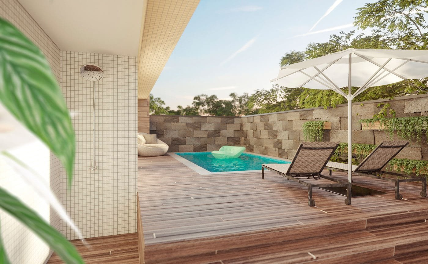 Piscina - Residencial The Sand